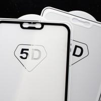 5D Full Tempered Glass VIVO V9 Tempered Glass Color Full cover