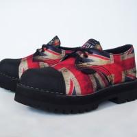 Sepatu Pria Underground Union Jack Short Boots