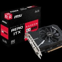 MSI Radeon RX 560 4GB DDR5 - AERO ITX 4G OC CV85 C_Comp