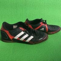Sepatu Futsal Adidas Azeiro Black Red - Second Original (Minus Box)
