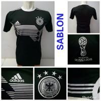 LOKAL Jersey Baju Jerman Kiper Hitam Piala Dunia 201 piala dunia 2018