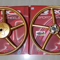 Velg RCB SP522 Yamaha Mio Sporty Mio Smile ukuran 120×17 dan 140x17