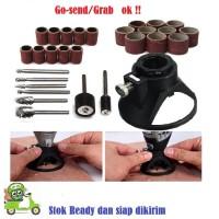 Dudukan Bor 1Set 29pcs mata bor ukir kayu mini grinder paket kerajinan