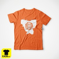 T794 Kaos Tshirt Baju Combed 30S Distro Persija PEta Pulau Jakmania