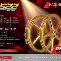 VELG RACING MIO - NOUVO RING 17 . 120 - 140 RCB SP 522 GOLD RACING BOY