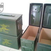 Bok besi perkakas Tool box anti air Anti Rayap Bok peluru Bok kunci ku