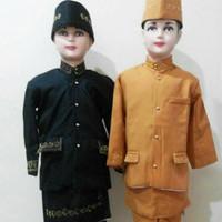 Pakaian adat anak baju betawi - sunda komplit