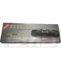 Tempat Plat Nomor / Dudukan Plat Nomor Mobil 46 cm Acrilic Akrilik LED