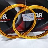 Velg Tdr Gold 140-140-ring 17 1 set Original TDR Thailand