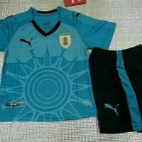 Baju Jersey Bola Kids Anak Uruguay Home World Cup Piala Dunia 2018