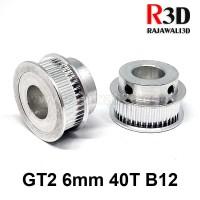 GT2 TIming Pulley 40 Teeth Bore 12mm Belt 6mm