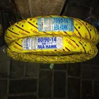 Paket 60/90 14 - 70/90 14 Ban luar motor Swallow SEA HAWK SB115