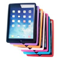 Silicon Soft iPad 6 2018 iPad 5 2017 Soft Silicone Case Black Apple
