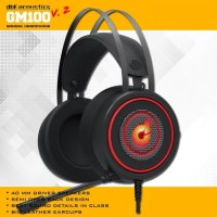 HEADSET GAMING DBE GM100 WITH MIC & LED