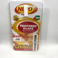 TEMPERED GLASS / ANTI GORES KACA SAMSUNG J8 2018 NERO