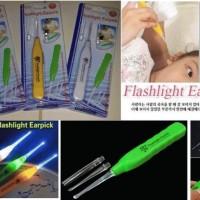 KOREK KUPING PEMBERSIH TELINGA LAMPU LED NYALA EAR PICK LED