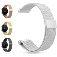 18mm Milanese Loop Stainless Strap Band for HUAWEI ASUS FOSSIL LG
