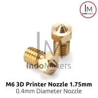 3D Printer Nozzle E3D V6 0.4 nozzle, 1.75 Filament Diameter