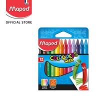 Maped Wax Crayon 12' - Cardboard