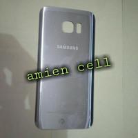 Back Door Back Cover Tutup Batrei Samsung Galaxy S7 Edge Ori Silver