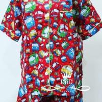 Promis !! -- Baju Tidur Setelan Dewasa Pajamas Tayo The Little Bus