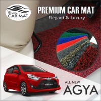 Karpet Mobil Mie Premium ALL NEW AGYA / AYLA Non Bagasi 1 Warna