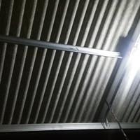 Kanopy baja ringan atap asbes