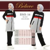 BAJU SENAM SETELAN Celana Training Olahraga Muslim WANITA MODIS BMS 16