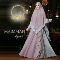 TH Maxi dress Syari /Gamis Syari /Baju Muslim Syari Terbaru Azka