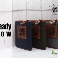 Alquran TANPA TERJEMAHAN Madina Arrayyan Al Quran Zipper Ar Rayyan