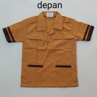 Seragam Pramuka SD / Baju Pendek Pramuka SD kelas 1 sampai 6