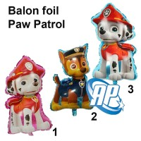 balon foil paw patrol jumbo / balon paw patrol/ balon karakter
