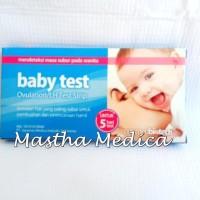 Baby Test ONEMED Ovulation /LH test Strip Alat TES deteksi Masa SubuR