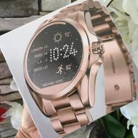 MICHAEL KORS ACCESS BRADSHAW SMART WATCH MKT5004 ROSE GOLD