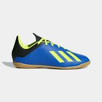 Sepatu futsal anak adidas x 18.4 in jr biru hijau
