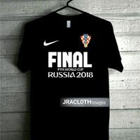 KAOS SHIRT JERSEY KROASIA CROATIA PIALA DUNIA WORLD CUP FINAL 2018