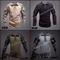 Kaos bdu combet shirt / kaos bdu tactical army / kaos outdoor tactical