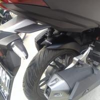 Aksesoris Spakbor kolong belakang hugger vario new 125 150