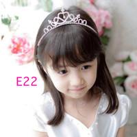 bando tiara crown untuk anak perempuan