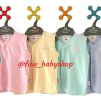 LIBBY Baju Kutung Newborn Polos Warna/ Libby Baju Bayi Baru lahir