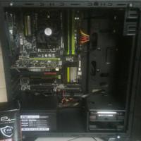 PC GAMING DESIGN HIGH END AMD ATHLON X4 860K VS RX 550 4GB DDR5
