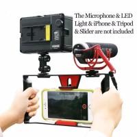 Smartphone Handheld Rig Stabilizer 4 7 Inch Vlog for Asus Xiaomi Sam