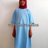 baju seragam khusus pasien rawat rumah sakit UGD operasi all size tali