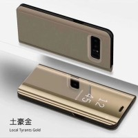 Flip Case Mirror Oppo F5 Flip Cover Stand Autolock Casing F5 Youth Pro