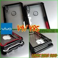 Vivo V9/ Y85 Anticrack Tempered Glass Transparan Case - Cafele Like