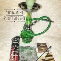 Rokok Shisha Mini/Shisa/Sisha Hookah Small+Alfakher+Arang+Foil Vapor