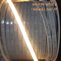 Lampu Led strip 2835 smd 144leds per meter warm white khusus meteran