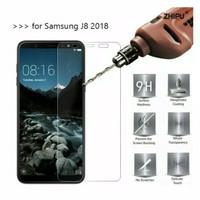 Tempered Glass Samsung J8 2018 Anti Gores Kaca (Screen Protector)
