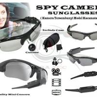 kacamata spy kamera/hitam