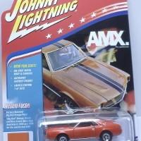 Johnny Lightning 1/64 Muscle Cars - R3A - AMC AMX 1969